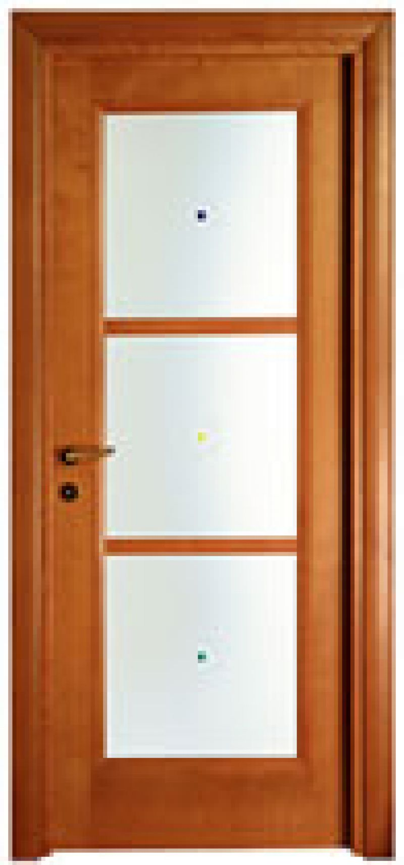 Porte a vetri per interni online Vendita Porte a vetri in legno ...